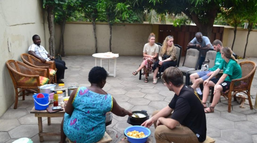 Spare time in Ghana